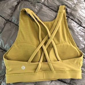🍋 Lululemon Energy bra high neck size 4